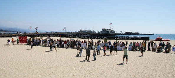 Santa Barbara Draws the Line with a 90' Pipeline!